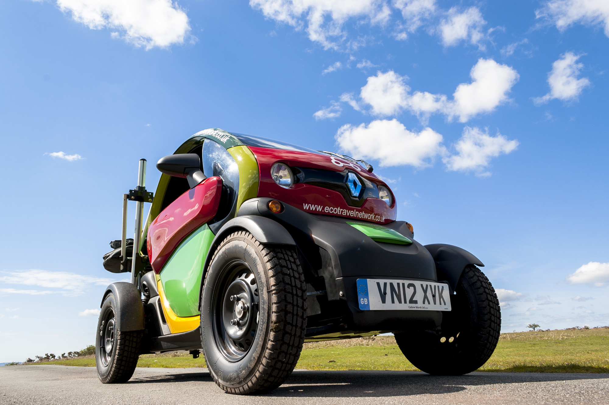 Rural Renault Twizy